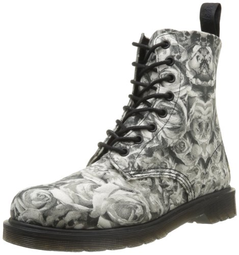 Dr Martens Men's Beckett 3G88 Boots Gray Gris (Black Grey) 44