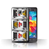 STUFF4 Phone Case Cover for Samsung Galaxy Grand Prime Sevens Design Slot Machine Collection