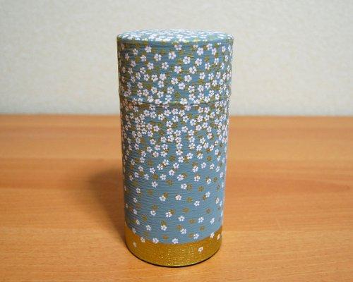 Ryu Mei Hanazono Little Flower Garden Tea Canister [Color:Gray] Japan