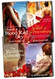 Kate Furnivall Kate Furnivall Related Books 4 Books Collection Pack Set RRP: £34.64 (The Jewel of St Petersburg, The Russian Concubine, UNDER A BLOOD RED SKY, The Concubine's Secret)