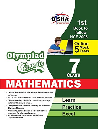 Olympiad Champs Mathematics with 5 Mock Online Olympiad Tests (Class VII)