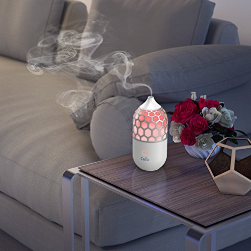 Calily™ Eternity Ultrasonic Essential Oil Diffuser Aromatherapy with Relaxing & Soothing Multi-Color LED Light - Perfect for Home, Office, Spa, Etc.
