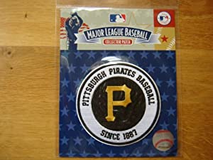 Pittsburg Pirates Baseball Secondary Logo Patch Jersey