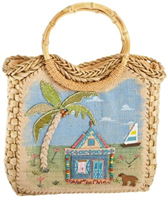 Cappelli Hut Life Tote,Key West,one size