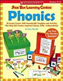 Phonics (Shoe Box Learning Centers) (0439537967) by Novelli, Joan
