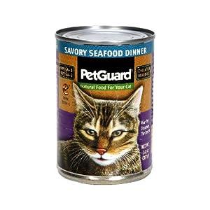 PetGuard Canned Cat Food Seafood -- 14 oz