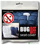 BugOff Bed Bug Seat Cover / Protector - White - Package of 12