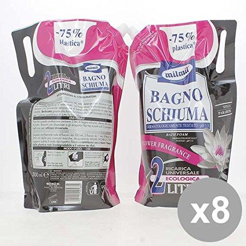 Set 8 MIL MIL Bagno 2L Flower Fragance Ricarica