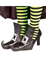 Forum Novelties Inc. Witch Shoe Covers W/ Buckle Adult Halloween Accessory