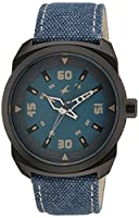 Fastrack OTS Explorer Analog Blue Dial Men's Watch - 9463AL07J