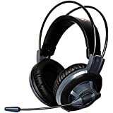 GranVela G925 3.5mm Wired Stereo Lightweight Headphones Over-the-Ear Gaming Headset With Microphone LED Lighting...