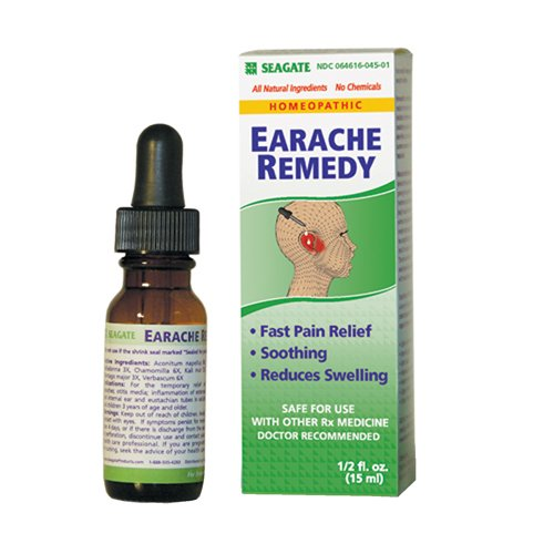 Seagate Earache Remedy, .5-Ounce Boxes (Pack of 2)