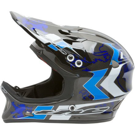 Image of THE Industries T2 Carbon Full-Face Helmet (B0062Y9FRC)