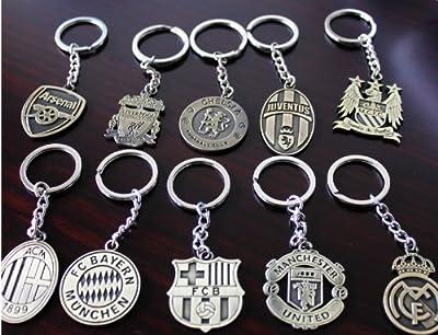 AC Milan Keychain Bronze Metal (2pcs)