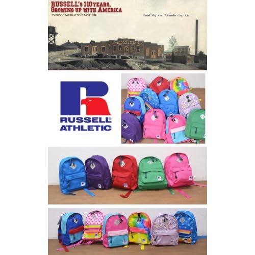 [ラッセル アスレチック] RUSSELL ATHLETIC リュック キッズ リュックサック #RKB-0101 子供 0106.Purple/flower