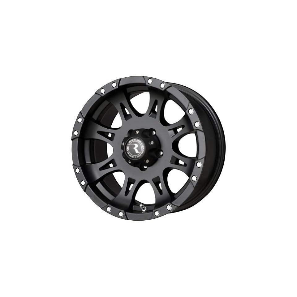 Raceline Matte Black Wheel (20x9/8x165.1mm)