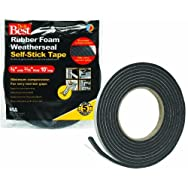 Do it Best Sponge Rubber Weatherstrip Tape-3/8X3/16