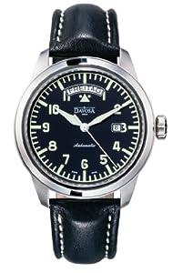 Davosa Herren-Armbanduhr Analog Edelstahl schwarz 16143156