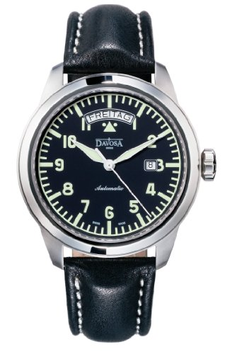 Davosa Simplex Day Men's Date Automatic Pilots Style Watch 16143156