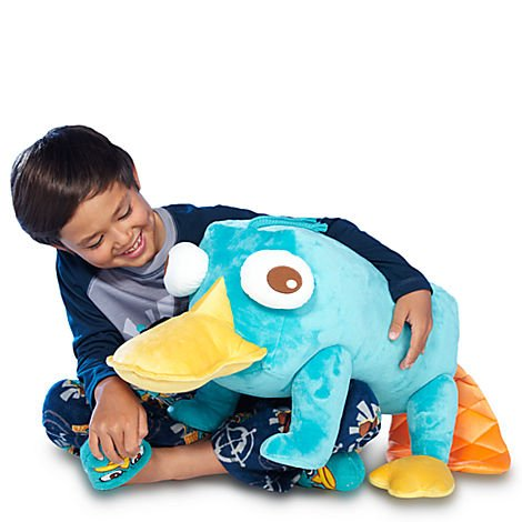 Disney Store Jumbo Perry The Platypus Plush From Phineas & Ferb front-935075