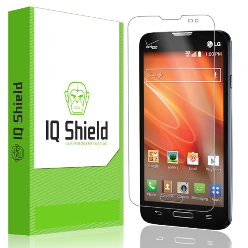 Iq Shield Liquidskin - Lg Optimus Exceed 2 Screen Protector With Lifetime Replacement Warranty - High Definition (Hd) Ultra Clear Smart Film - Premium Protective Screen Guard - Extremely Smooth / Self-Healing / Bubble-Free Shield - Kit Comes In Frustratio