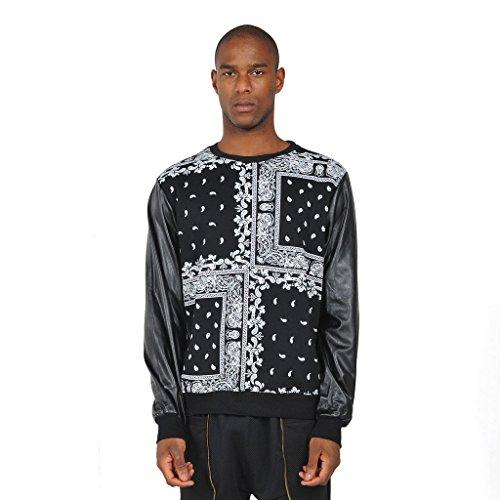 pizoff-homme-hip-hop-paisley-print-sweat-shirts-avec-manches-en-similicuir