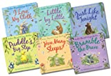 Amber Stewart Layn Marlow Collection - 6 Books RRP £35.94 (I Love My Cloth; Little By Little; Just Like Tonight; Puddle's Big Step; How Many Sleeps; Bramblethe Brave)