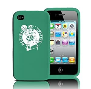 Tribeca Gear FVA3984 Silicone Varsity Jacket for iPhone 4 - Boston Celtics - 1 Pack -... by Tribeca Gear