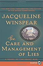 By Jacqueline Winspear The Care and…