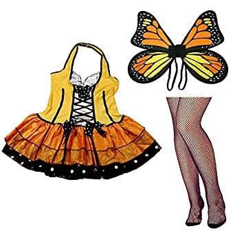 Fun World Butterfly Queen Halloween Costumes for Women [122164 + NE14]