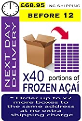 AÇAÍ Frozen - Especial Grade x 40 Portions (Next Day - Before 12)