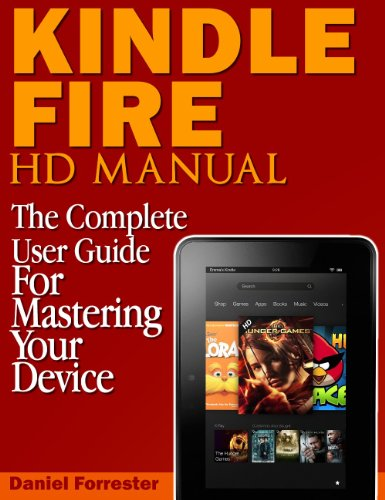 instruction manual for a kindle