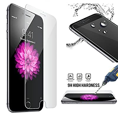 [Lifetime Warranty] iPhone 6 / 6S Screen Protector, OuTera Tempered Glass Screen Protector for iPhone 6 6S [Anti-Scratch] 9H 0.2mm Screen Protection Case Fit 99% Touch Accurate