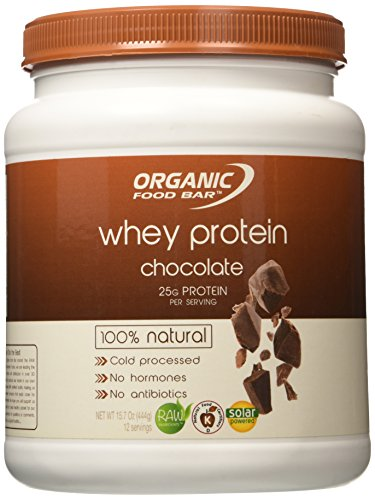 100% Natural Whey Protein - Chocolate 15.7 oz (444...