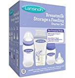 Lansinoh Breastmilk Storage and Feeding Set