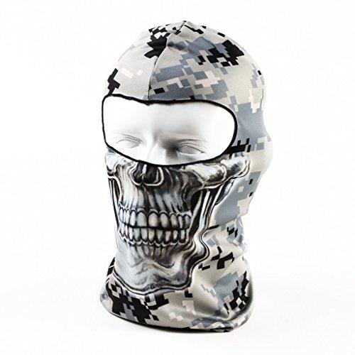 Maoko Camo Sports Thin UV Protective Windproof Face Mask- Motorcycle Cycling Skull Balaclava (Easton Motors compare prices)