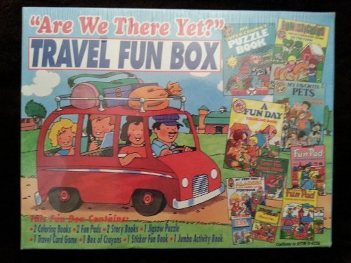 """Are We There Yet"" Travel Fun Box"