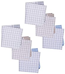 Reddington Gentleman's Cotton Handkerchief - Pack of 6 (Multi-Coloured)