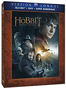 Le Hobbit : Un voyage inattendu [Version longue - Blu-ray + DVD + Copie digitale]
