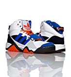 (アディダス)adidas スニーカー シューズ ハイカット Streetball 1.5 Sneakers 8.5/9/9.5/10サイズ(26.5/27/27.5/28cm)White×Blue×Orange(ホワイト×ブルー×オレンジ)