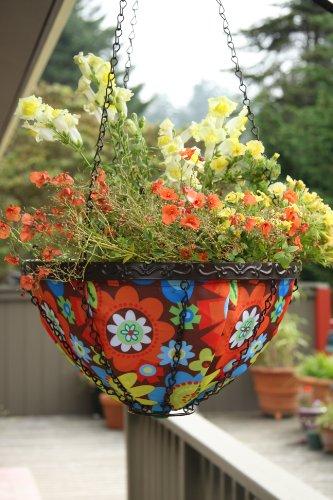 Toland Home Garden 202037 Bright Blooms Hanging Art