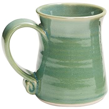 Handcrafted River Green Mug