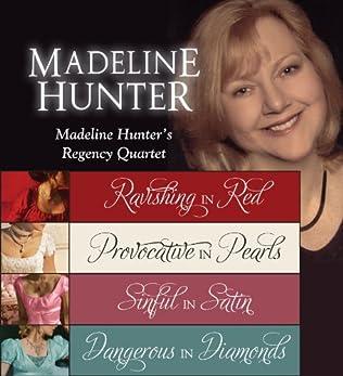 book cover of Madeleine Hunter\'s Regency Quartet