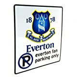 Everton FC Official Football Gift No Parking Sign - A Great Christmas / Birthday Gift Idea For Men And Boys
