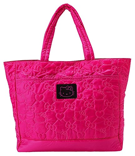 Hello Kitty Quilted Pink Shoulder Bag (Hello Kitty Quilted Purse compare prices)
