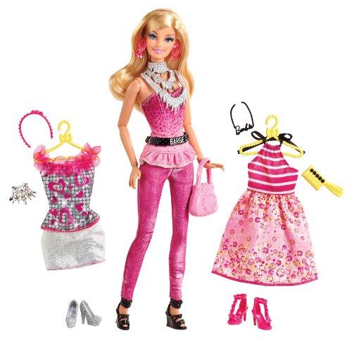 Barbie Fashionistas Fashion Fabulous Doll, Pink front-1047102