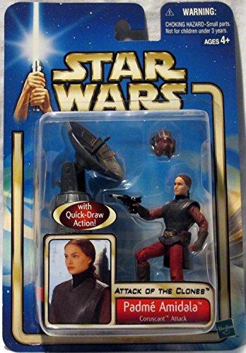 Star Wars Saga Aotc Us Figure Padme Amidala Coruscant Attack