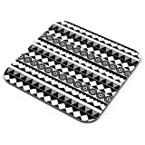 PosterGuy Coasters - Black & White Pattern | Designed By: Design Dazzlers