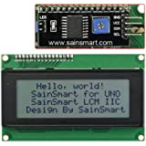 SainSmart IIC/I2C/TWI Serial 2004 20x4 LCD Module Shield White Blacklight for Arduino UNO MEGA R3