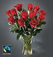 Fairtrade Dozen Red Roses